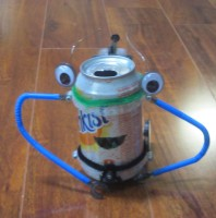 Smiley Soda Can