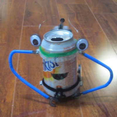 Smiley Soda Can