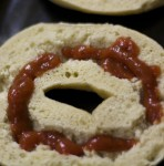 Pizza Bagel Smiley