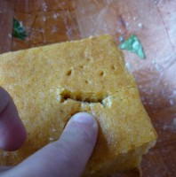 Cornbread Smiley