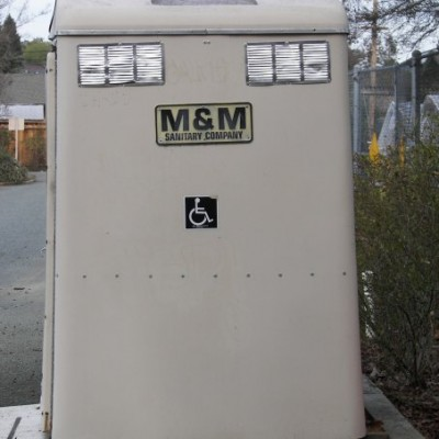Port-a-Potty Smiley, #Smiley