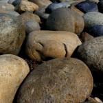 Rock Smiley takes a Nap