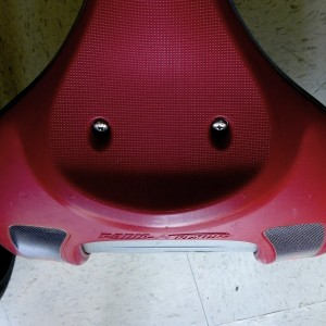 Bike Seat Smiley