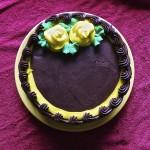 Chocolate Cake Smiley