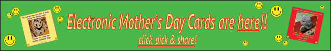 Mother's Day Cards BUTTON