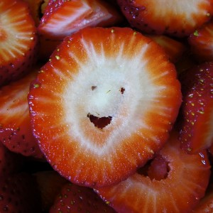 Strawberry Smiley