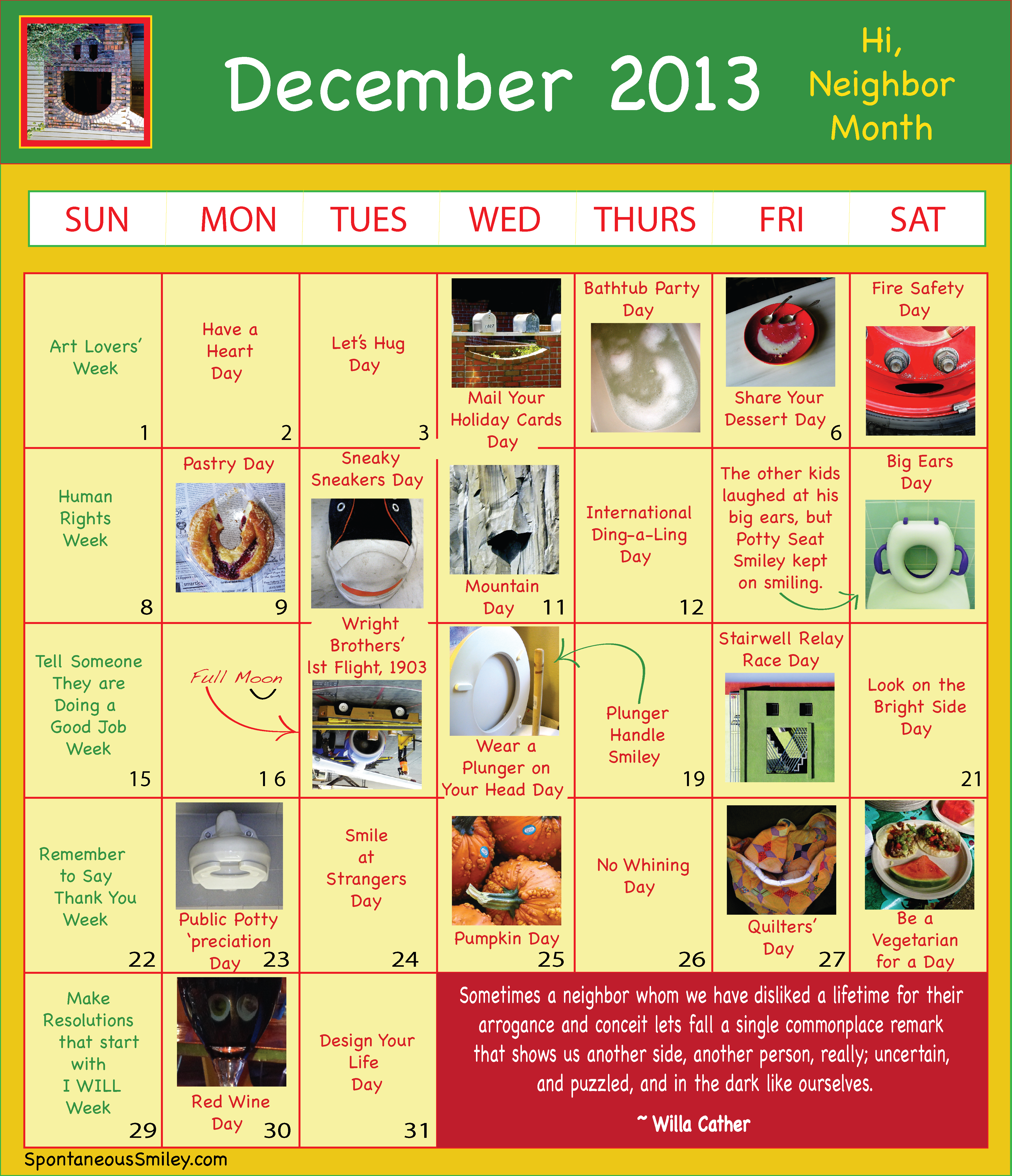 Calendar 2013-12-01