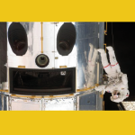Hubble Telescope Smiley for Space Day