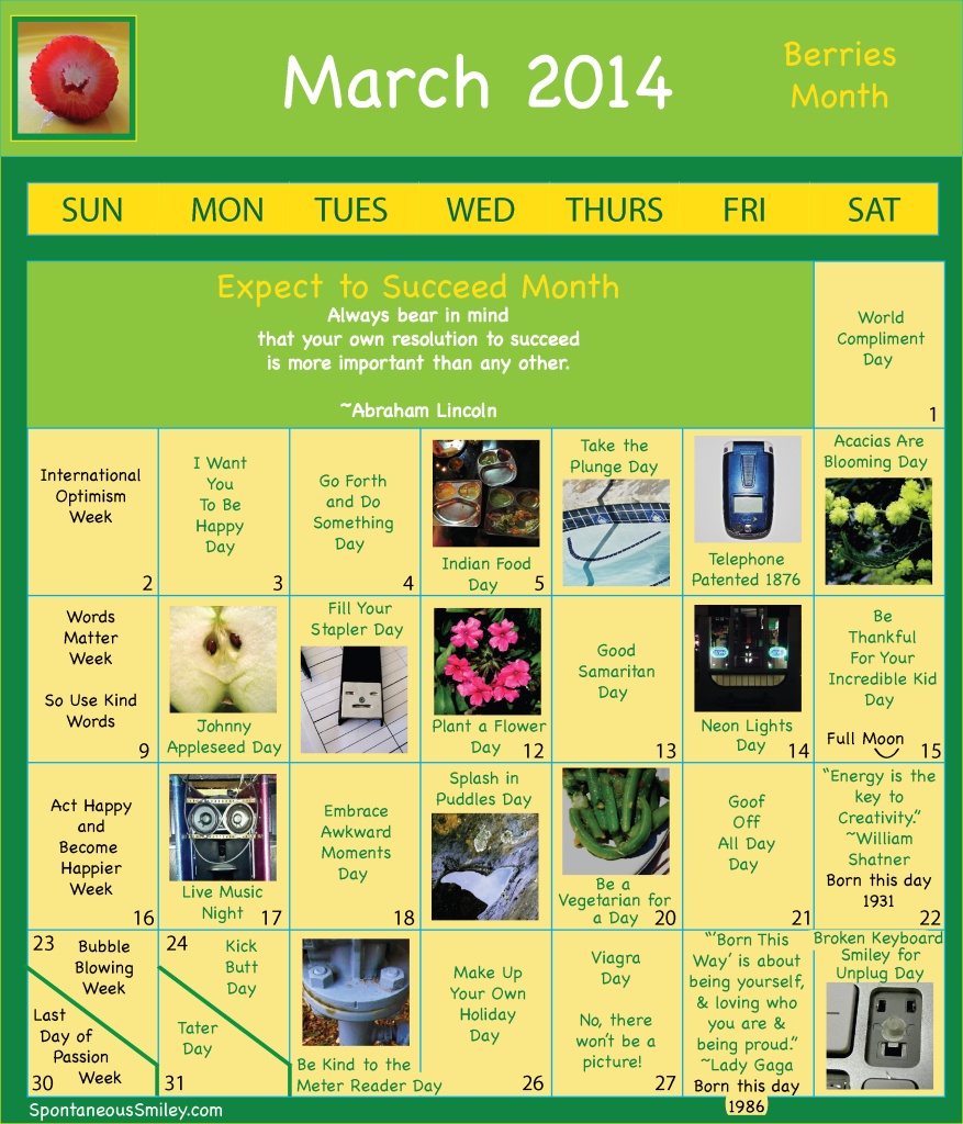 calendar 2014-3-01