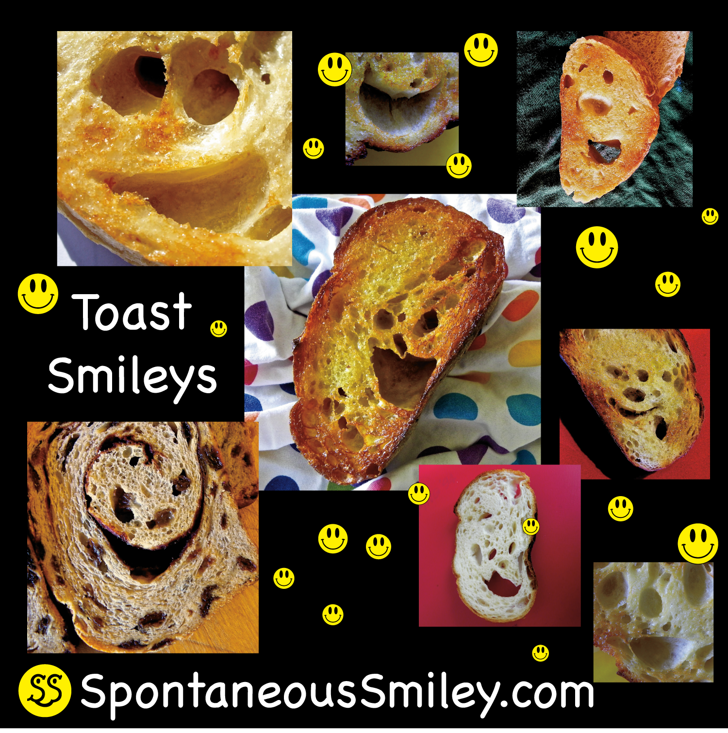 toast smileys