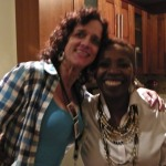 Me with birthday girl Iyanla! 2010 in Paolo Presta's kitchen