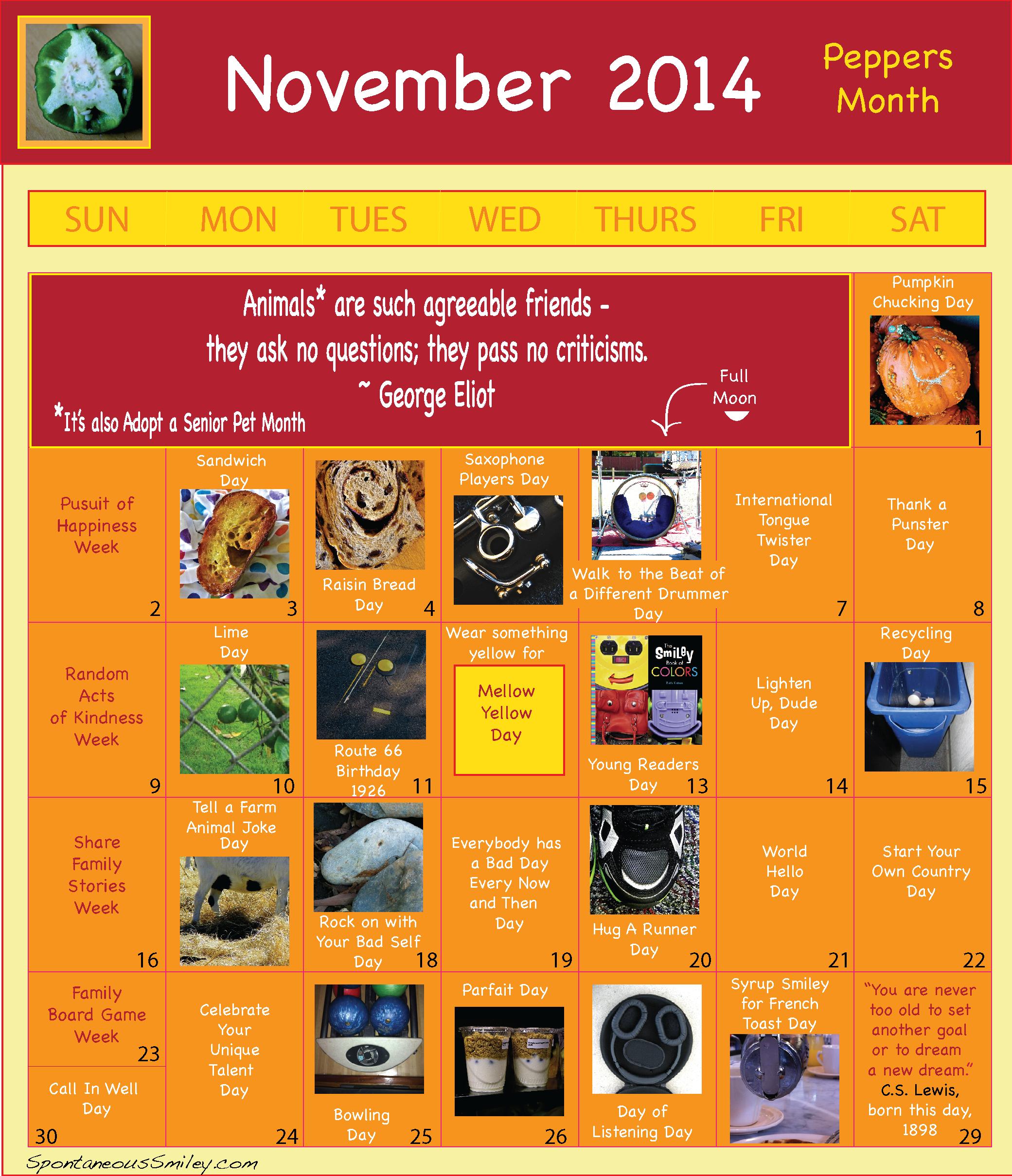 Calendar 2014-11-01