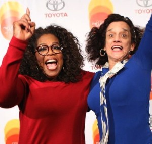 Oprah jump 2014