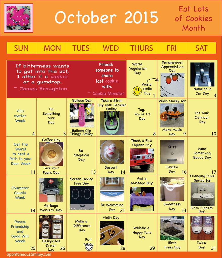 Calendar 2015-10-01