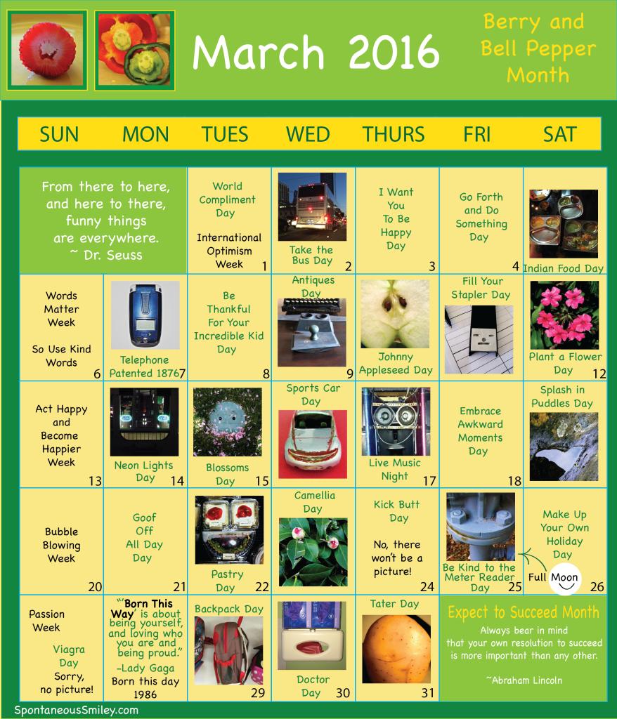 calendar 2016-3-01