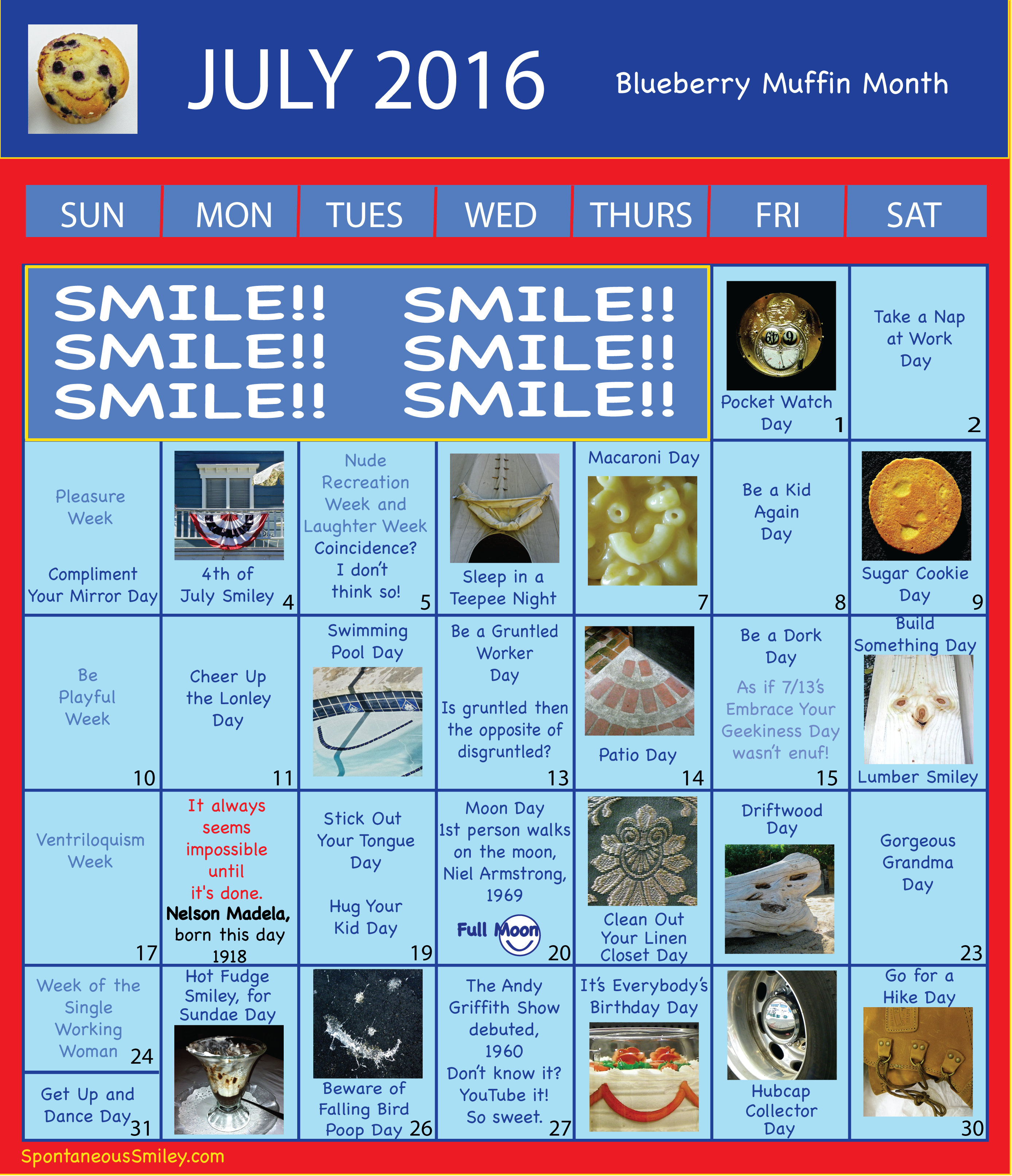 Calendar 2016-7 -01